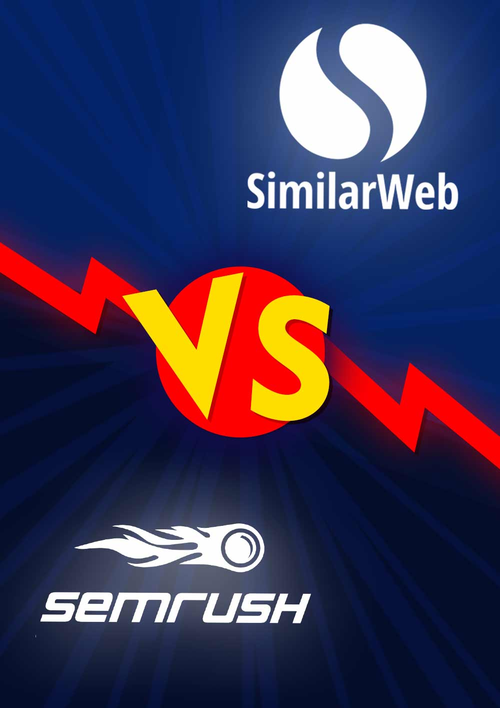 Etude comparative : Semrush Vs Similarweb